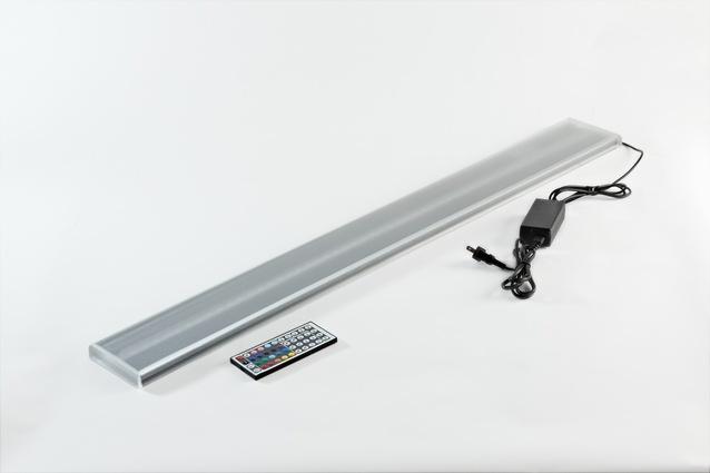 RGB LED panel s externím zdrojem