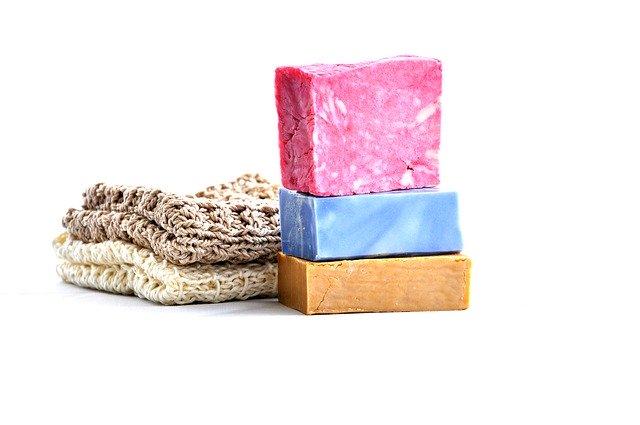 doma vyrobené mýdlo