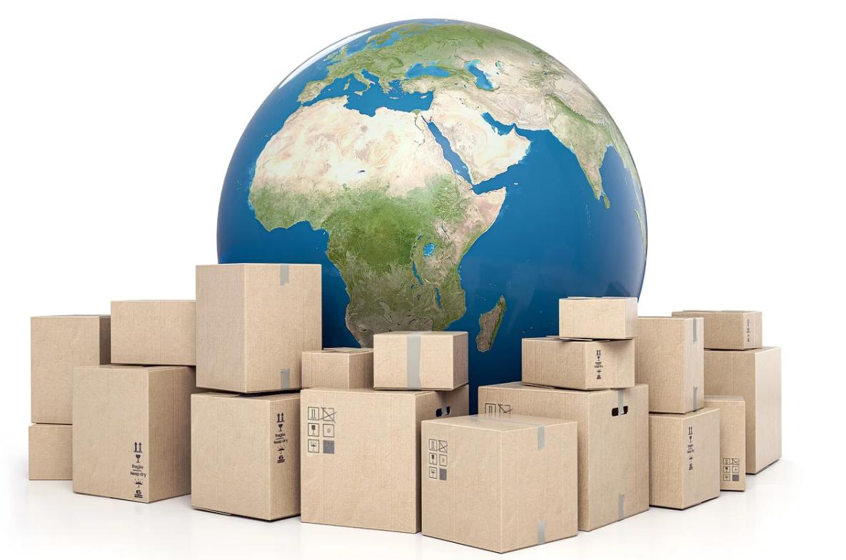 svět a balíky